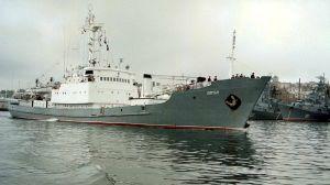 En arkivbild på örlogsfartyget Liman från år 1999.