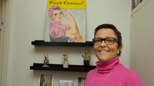 Jenni Laxén är döende i cancer.