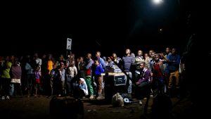Kibera-dokumentin ulkoilmanäytös