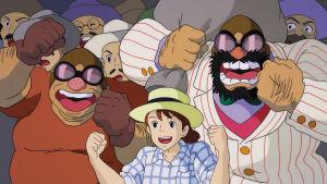 Kuva Hayao Miyazakin animaatioelokuvasta Porco Rosso.
