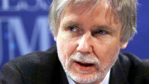 Bild på tidigare utrikesminister och Europaparlamentariker Erkki Tuomioja.