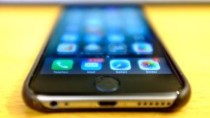 En iPhone.