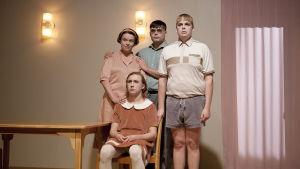 Foto från Tavallisuuden aave på Q-teatteri