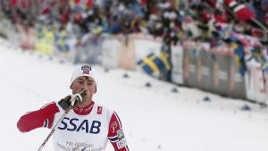 Petter Northug, VM i Falun, februari 2015.