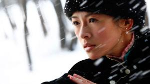 The Grandmaster. Ohjaus Wong Kar-wai. Kuvassa Zhang Ziyi.