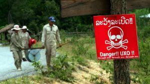 Minröjare i Laos