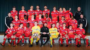 FF Jaros annorlunda lagbild, våren 2017.