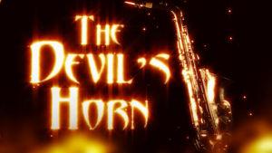 Ruutukaappaus saksofonin historiaa käsittelevästä dokumenttielokuvasta The Devil's Horn eli Paholaisen torvi.