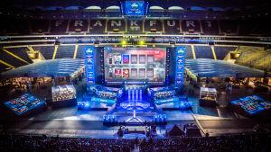 ESL One Frankfurt -tapahtuman finaali alkamassa