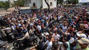 Venezuelas symboliska omröstning lockade 7,2 miljoner.