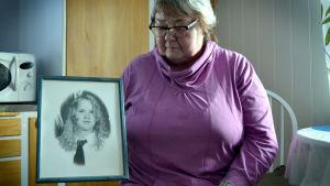 Lise-Marie Burman från Storuman i Sverige.