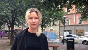 """Victoria Rixer är en av skribenterna i """"Finnjävlar""""."""