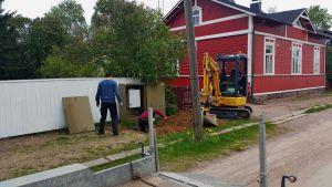 Nya fiberanslutningar installeras i Lovisa