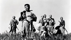 Kuva elokuvasta Seitsemän samuraita