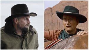 Etsijöitä ennen ja nyt: elokuvat Les Cowboys (2015) ja Etsijät (1956).