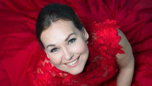 Den åländska mezzosopranen Jenny Carlstedt.