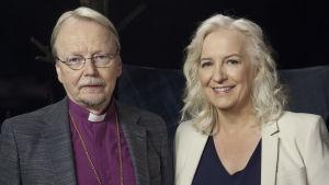 Ihmisten pappi. Arkkipiispa Kari Mäkinen Maarit Tastula haastateltavana.