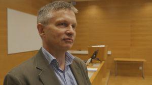 Porträttbild på chefsåklagare Pär Andersson vid Malmö tingsrätt.