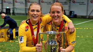 Anna Westerlund avslutade sin sejour i LSK med cupguld.