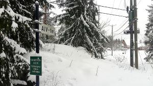 AIV-vägen i Skräddarby i Sibbo.