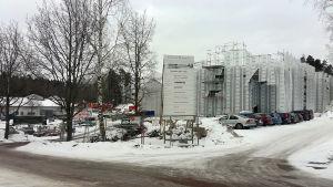 Strömborgska skolan byggs i Borgå.