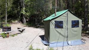 telttasauna