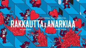 Rakkautta & Anarkiaa -festivaalin 2019 grafiikkaa