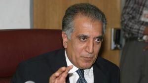 USA:s chefsförhandlare för Afghanistan Zalmay Khalilzad.