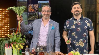 Gogi ja viinimestari Samuil Angelov valmistavat yhdessä kesäisen drinkin, joka soveltuu kesäjuhlien hittibooliksi tai suoraan lasiin nautiskeltavaksi.