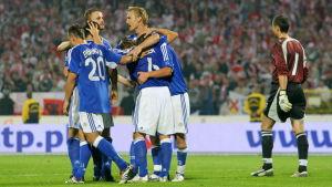 Finland slog Polen i Bydgoszcz i september 2006.