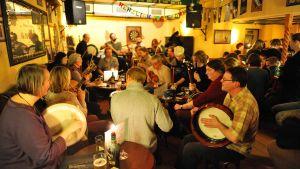 Musiker på en pub
