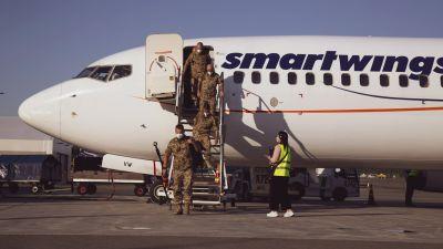 Soldater återvänder från afghanistan