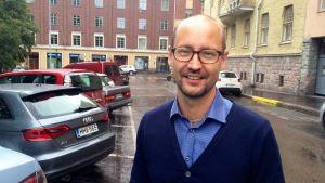 Tero Kallio, vd på Bilimportörerna.