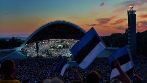 Körfestivalen i Tallinn år 2014.