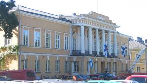 Bild på Åbo Akademis huvudbyggnad.