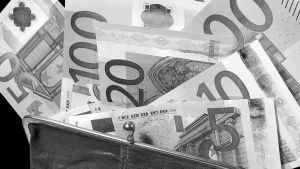 Eurosedlar, svartvit