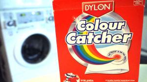 Dylonin Colour Catcher -värinkerääjäliinojen pakkaus