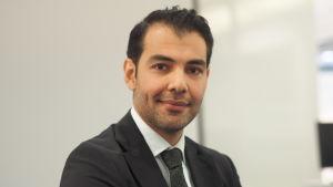 Hussein Al-Taee jobbar för CMI med att förmedla  Irak
