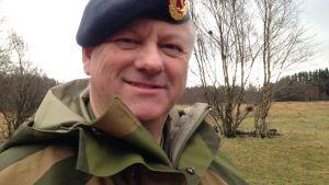 Kommendör Tor Fredrik Johannessen säger att intresset bland kvinnor att utföra militärtjänst är stort.