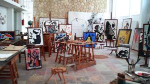 Joan Mirón studio, Mallorca