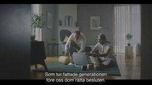 skärmdump från statsrådets reklamvideo för landskapsreformen
