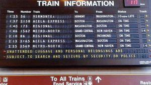 Juna-asema, USA