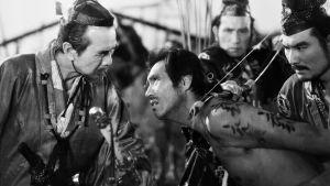 Kuva Akira Kurosawan elokuvasta Rashomon.