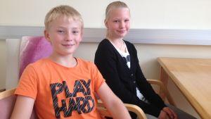 John Högberg och Anna Tulonen