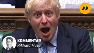 Boris Johnson i parlamentet den 4 september 2019.