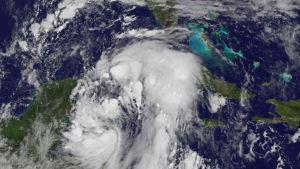 Orkanen Nate kommer antagligen att förstärkas då den sveper över norra Mexikanska golfen