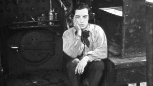 Buster Keaton elokuvassa Kenraali