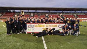 Helsinki Wolverines firar guldet