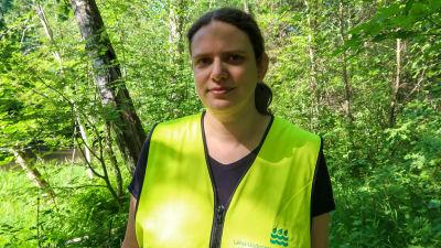 Maria Kuhlström från Luvy.