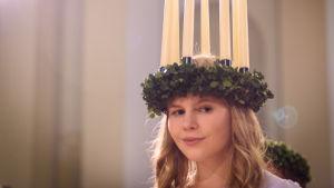 Finlands lucia 2016 Ingrid Holm.